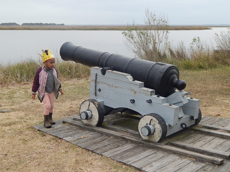 Exploring Fort Frederica in St. Simons Island - Bianca Dottin