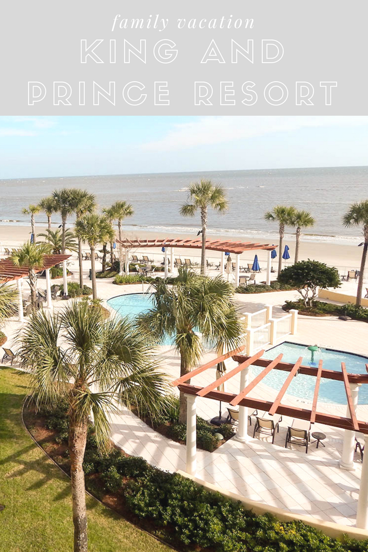 Family Weekend Vacation at The King and Prince Resort - Bianca Dottin