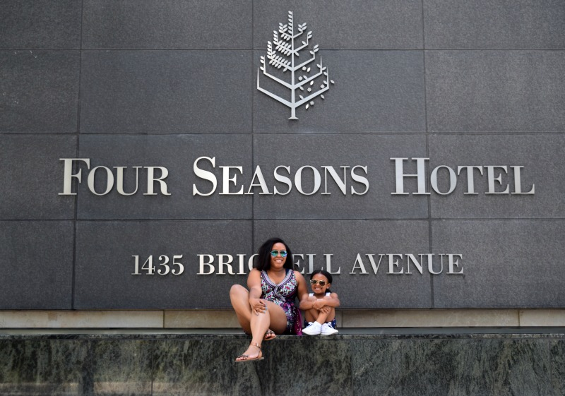 Father's Day Weekend at the Four Seasons Hotel Miami - Bianca Dottin