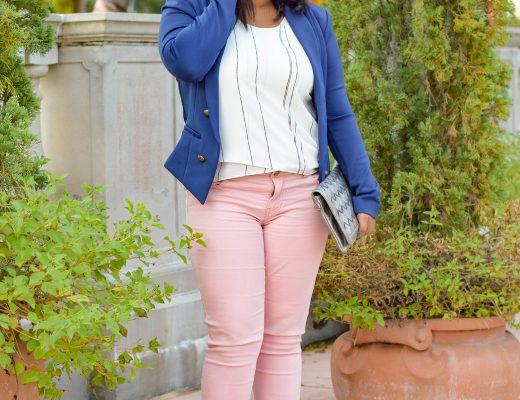 Tips for Styling Blush Jeans - Bianca Dottin - Orlando Fashion Blogger