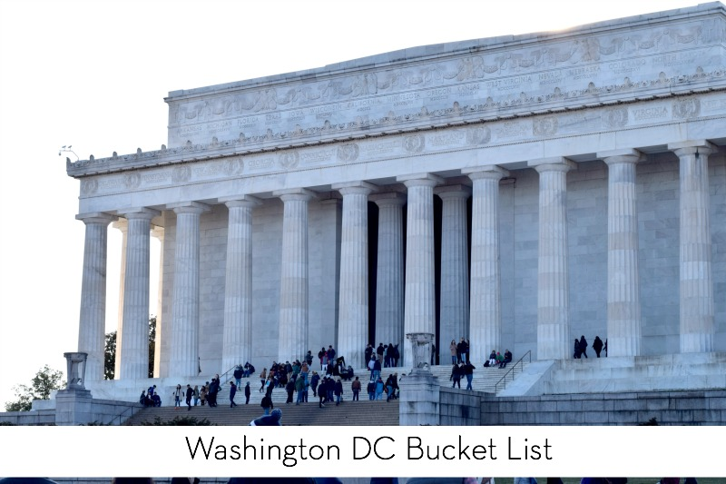 Washington, DC Bucket List