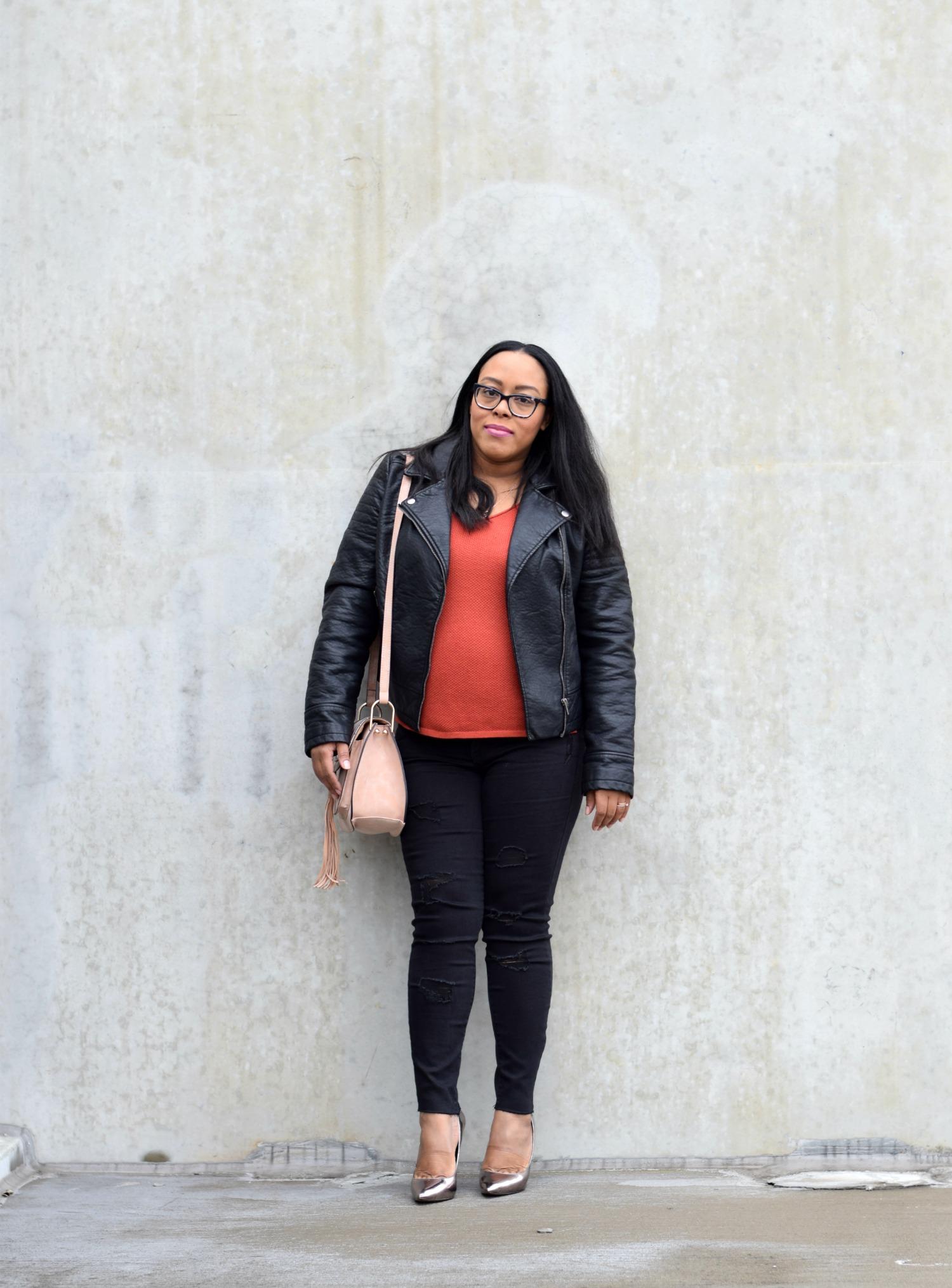Orange and Black | Bianca Dottin
