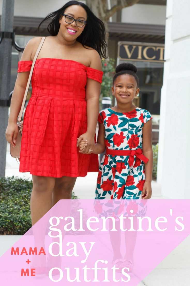 Mama + Me: Galentine's Day Look - Bianca Dottin