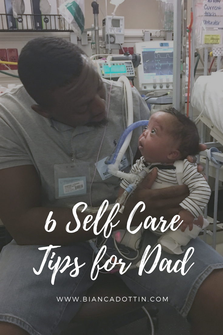 Dad Matters Too: 6 Self Care Tips for Dad - Bianca Dottin