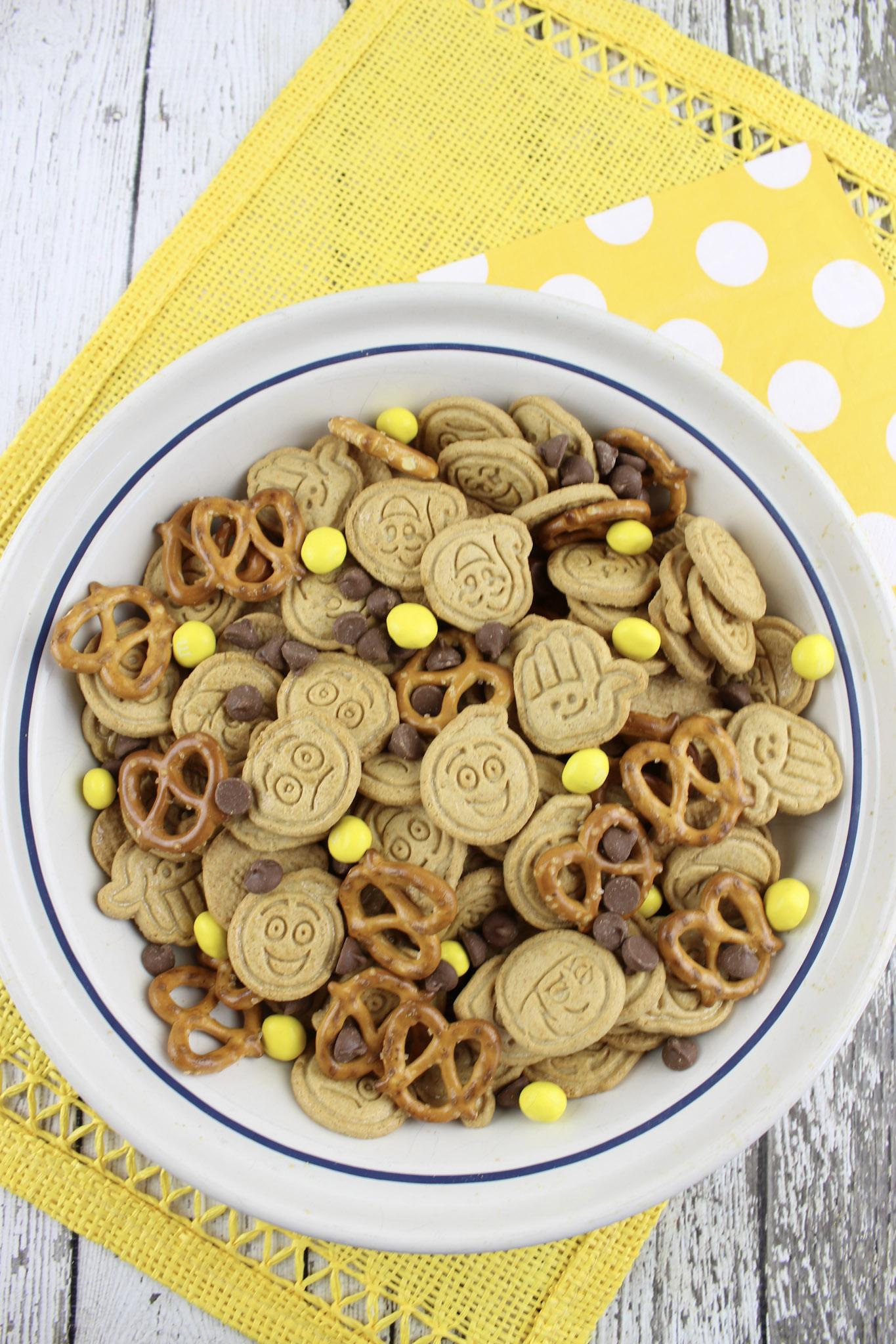 Emoji Movie Snack Mix