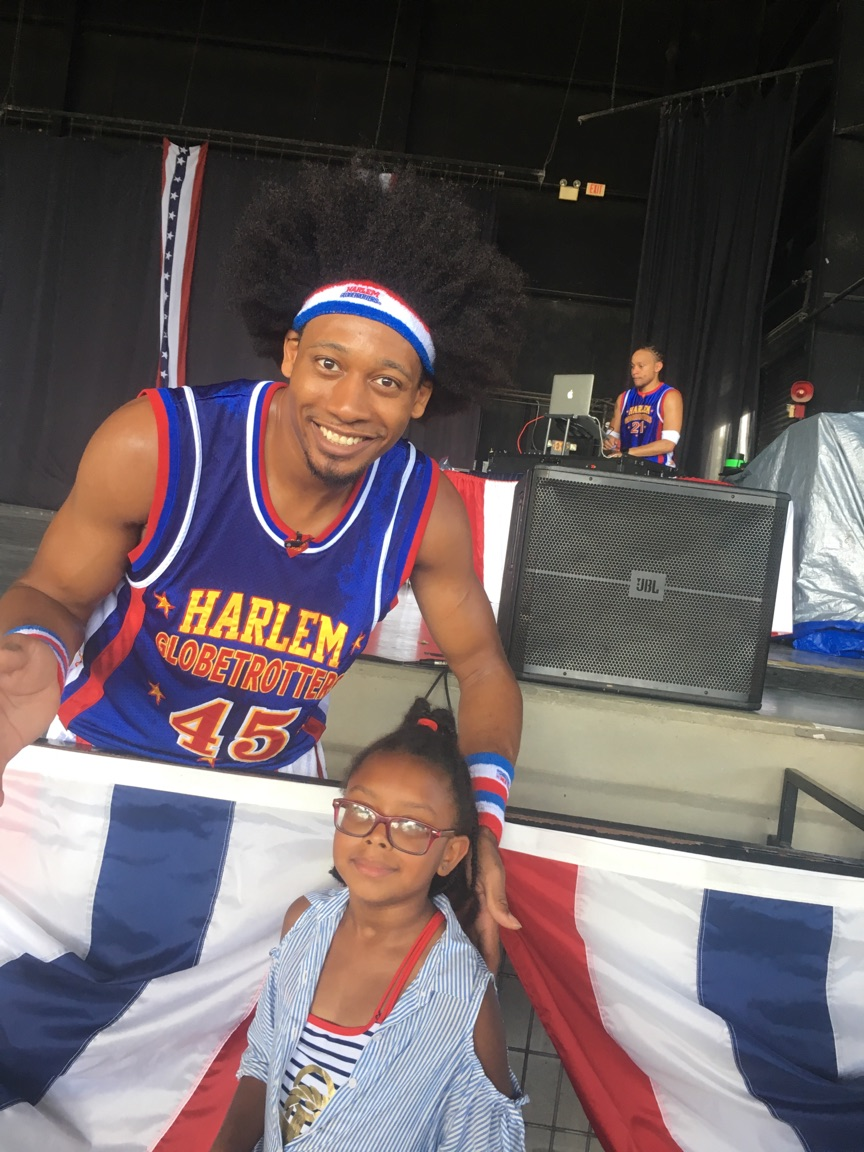 Harlem Globetrotters at Wild Adventures 3