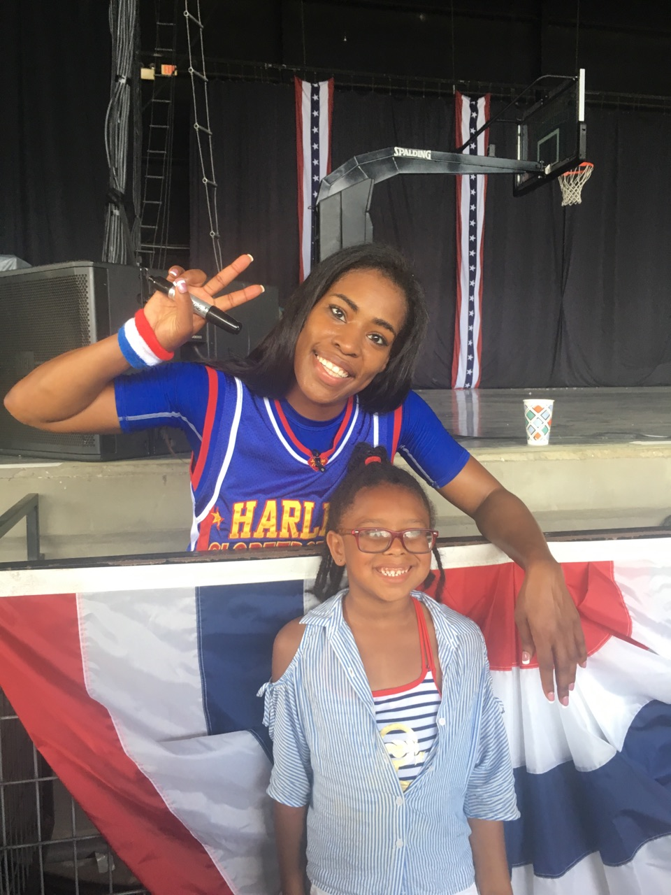 Harlem Globetrotters at Wild Adventures 2