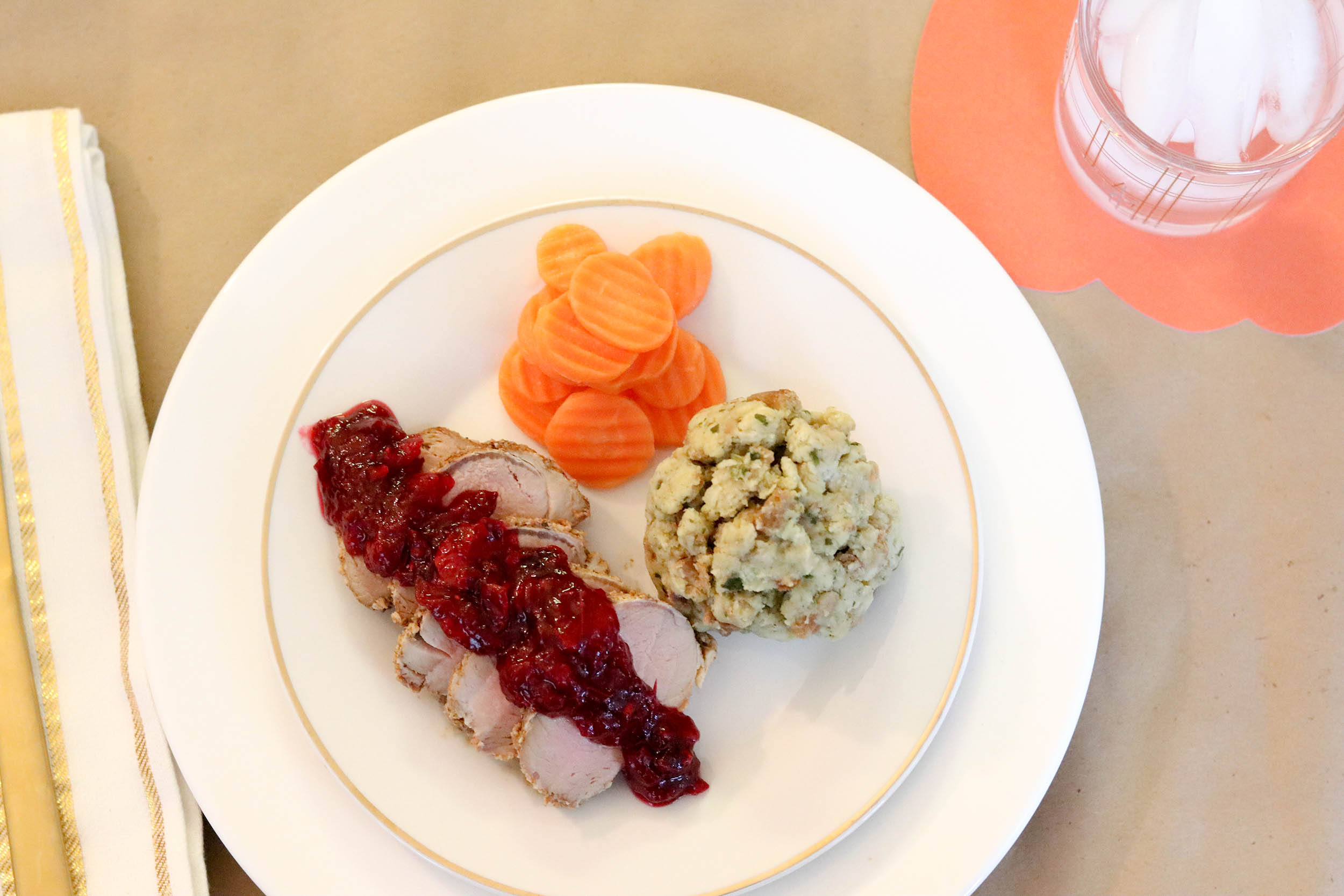 Taste of Now Cranberry Pork Loin Recipe | Bianca Dottin