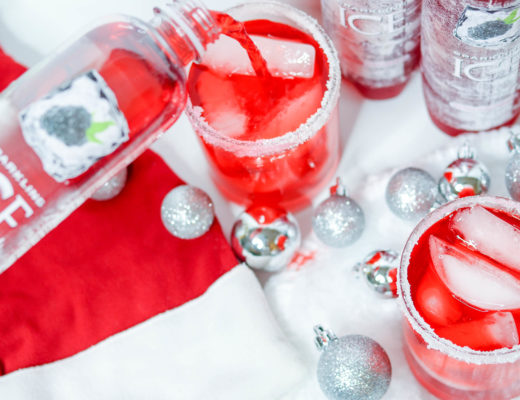 Santa's Black Raspberry Rum Punch | Bianca Dottin