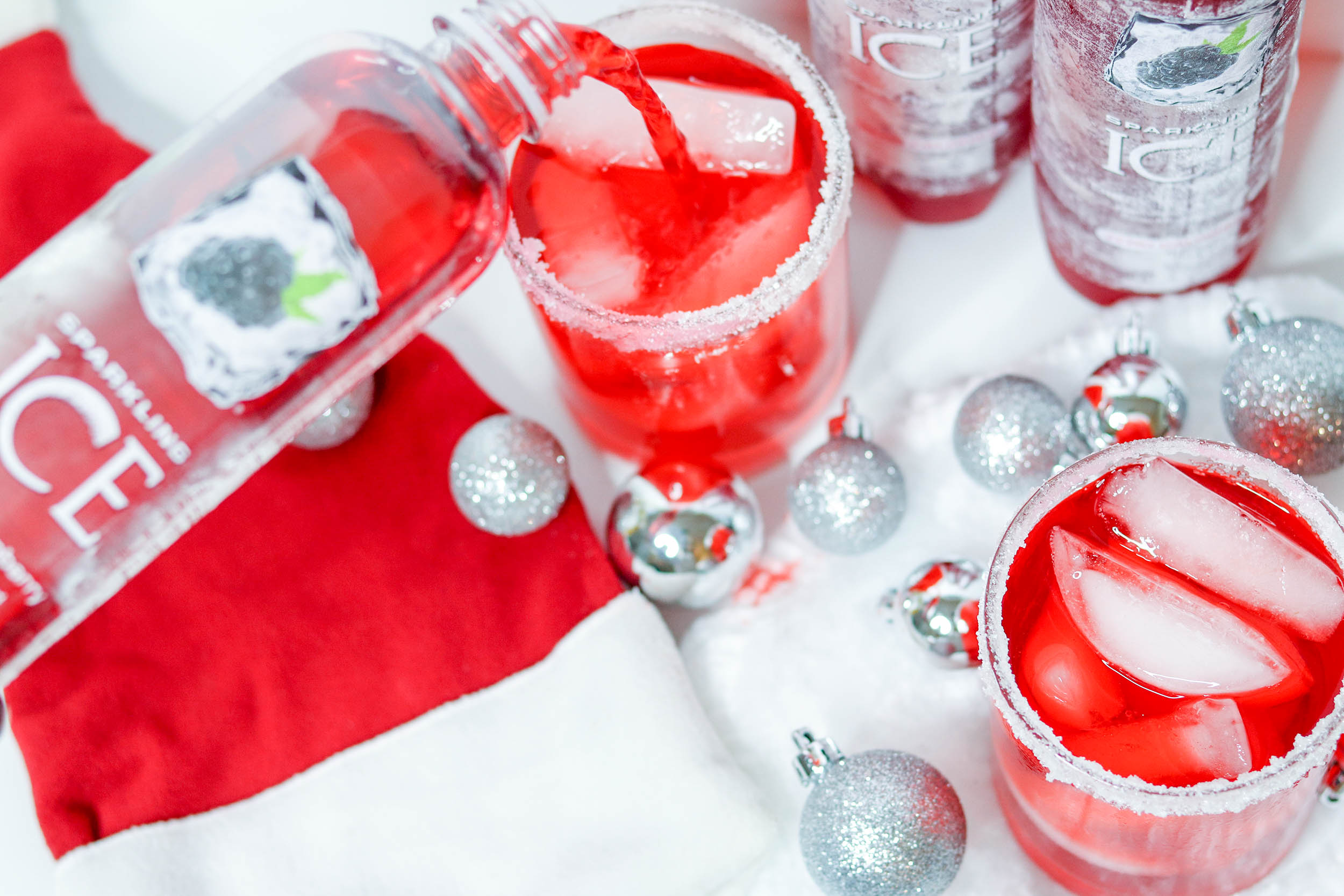 Santa's Black Raspberry Rum Cocktail   Bianca Dottin