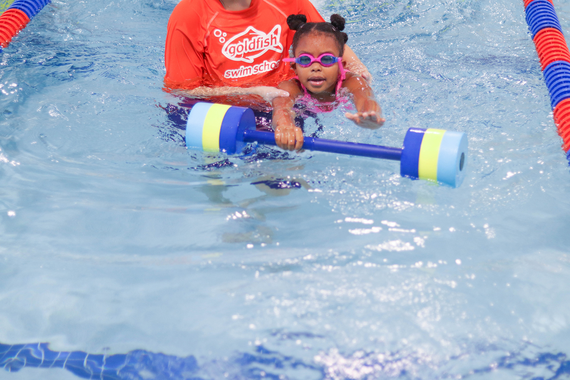 6 Swimming Skills Your Kid Will Learn at Goldfish Swim School | Bianca Dottin