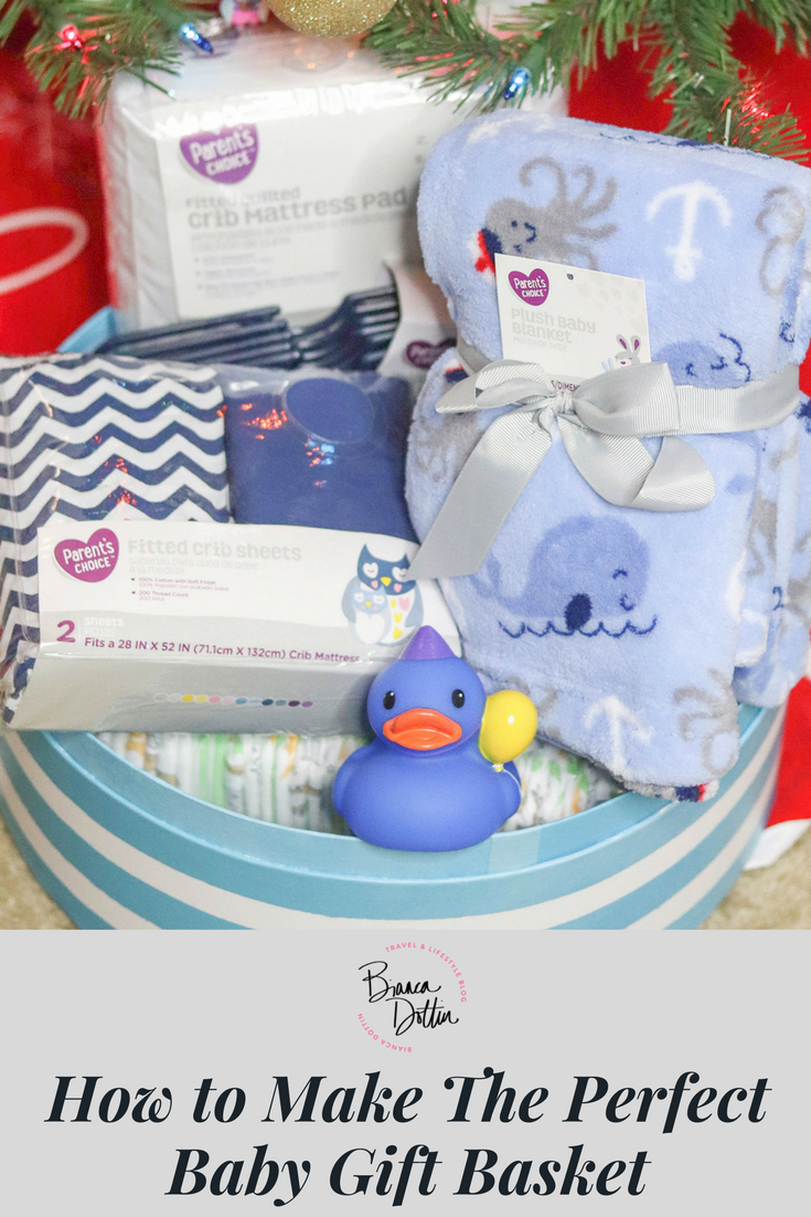 How To Make a Baby Gift Basket | Bianca Dottin
