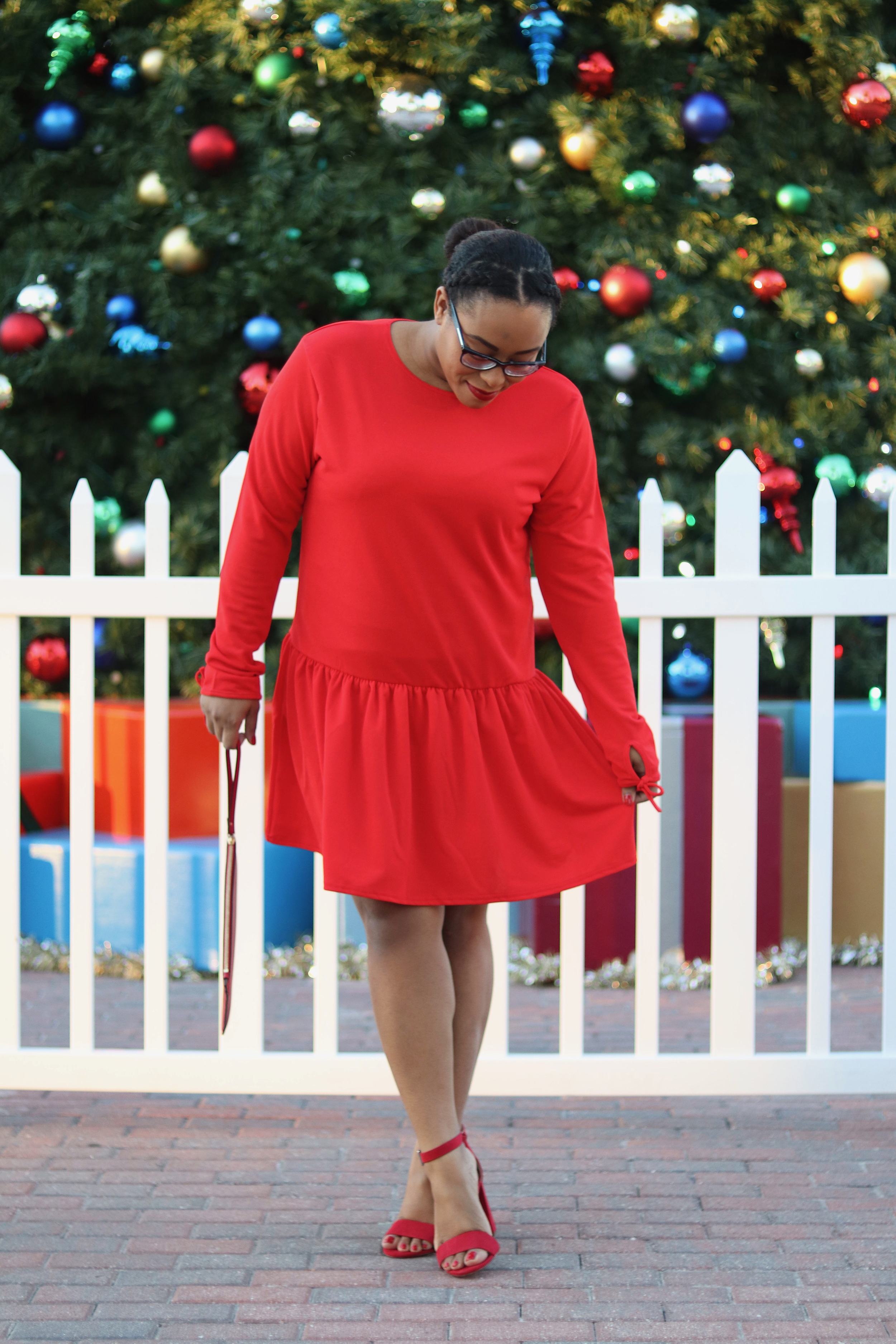 The Perfect Red Party Dress   Bianca Dottin