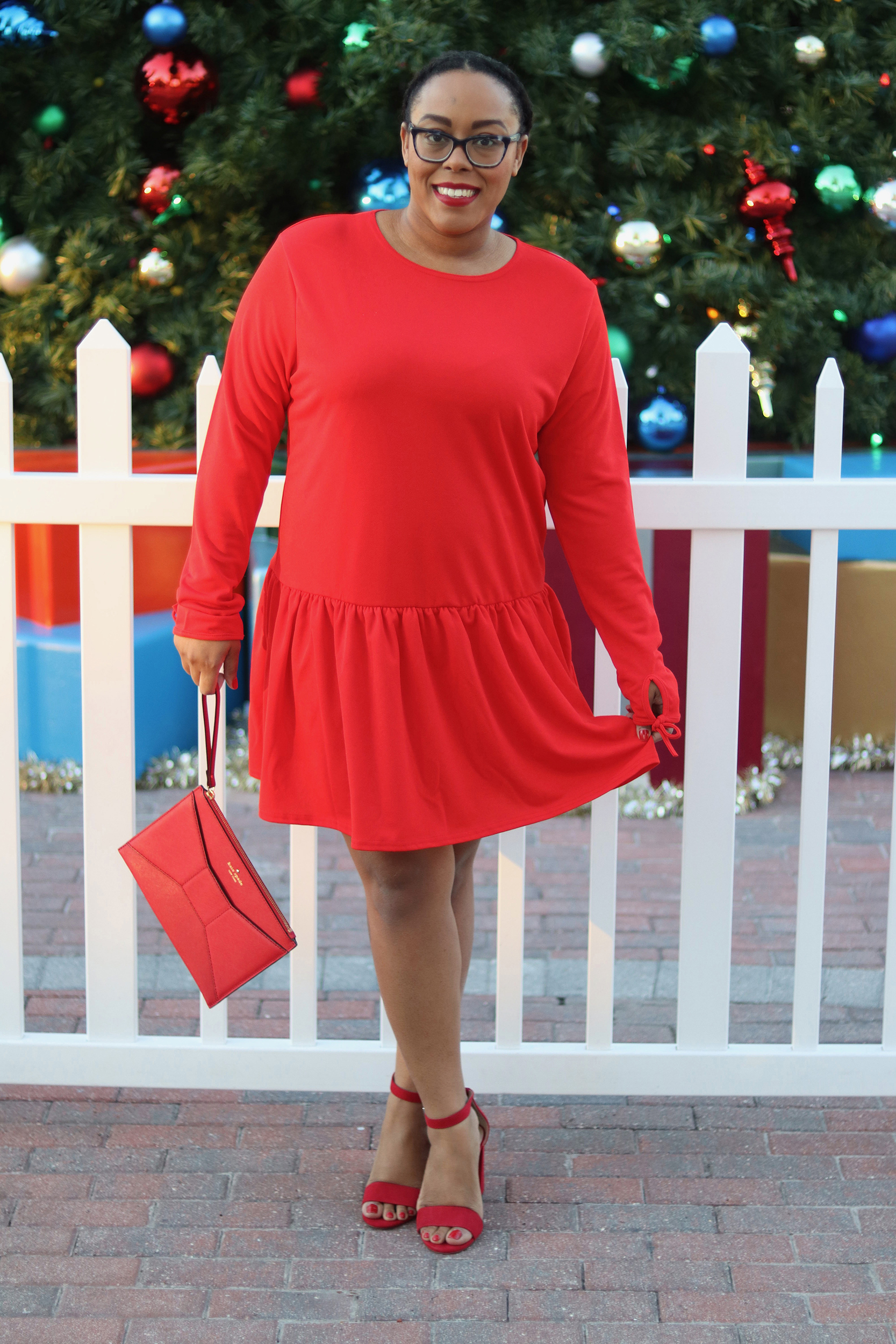 The Perfect Red Party Dress | Bianca Dottin