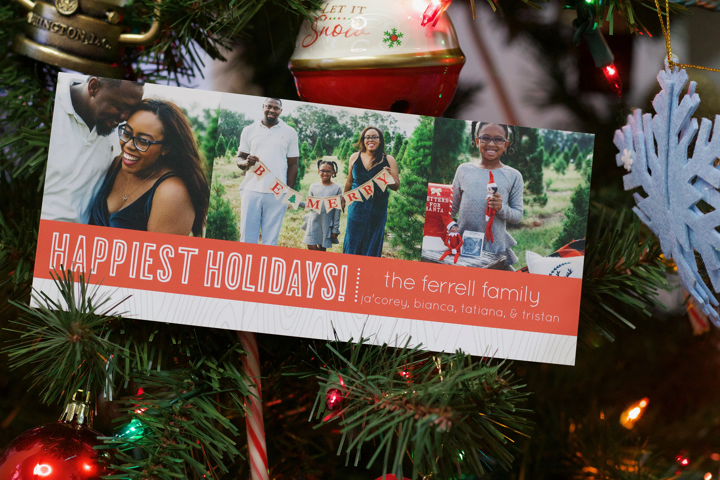4 Steps to Creating Flawless Basic Invite Christmas Cards | Bianca Dottin