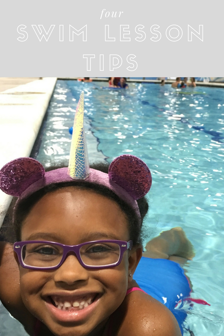 Swimming Ain't Easy: 4 Successful Swim Lesson Tips - Goldfish Swim School - Bianca Dottin
