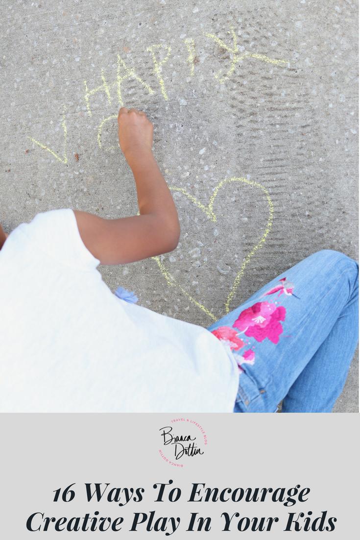 16 Ways to Encourage Creative Play in Your Kids | Bianca Dottin
