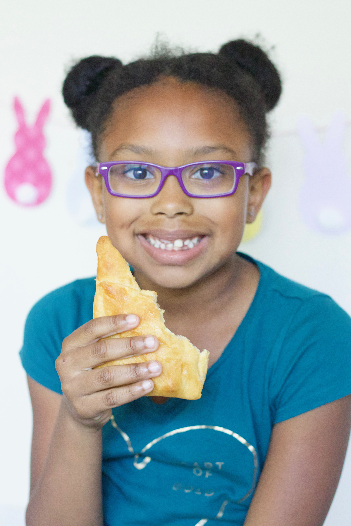Easter Inspired Bacon Egg and Cheese Sandwiches - Bianca Dottin