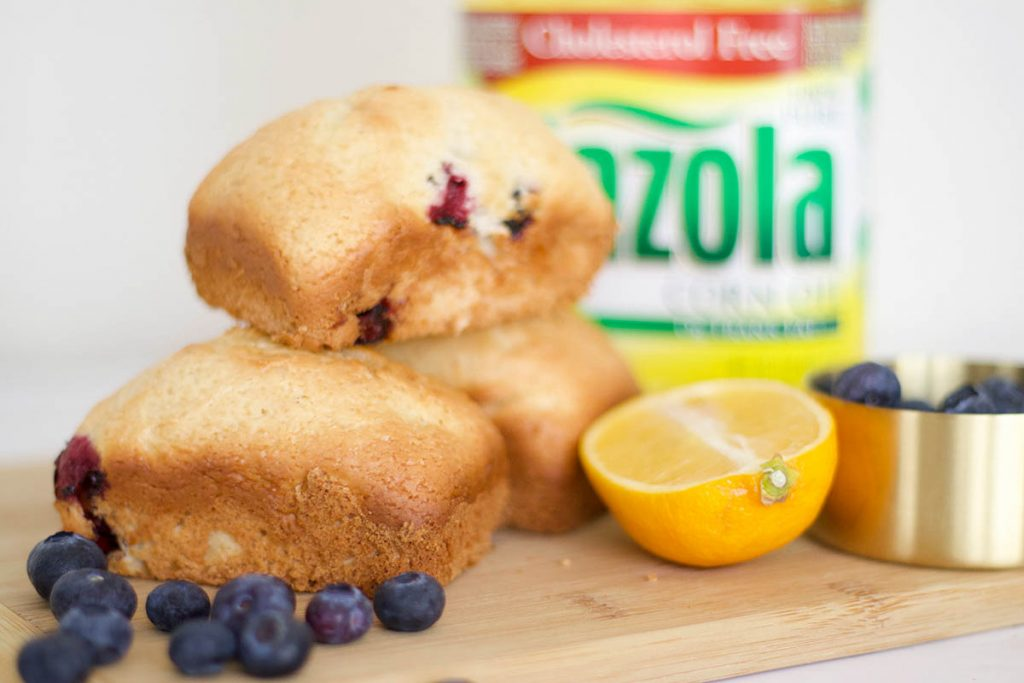 Mini Blueberry Lemon Bread - Bianca Dottin