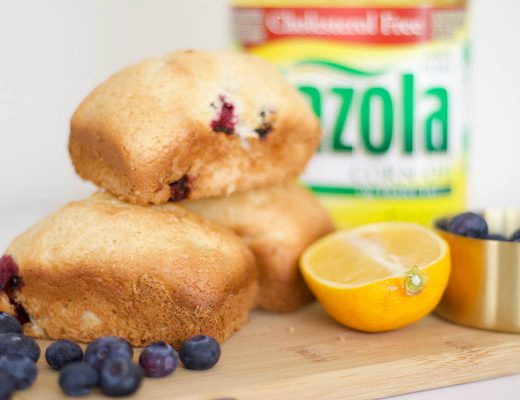 Mini Blueberry Lemon Bread - Bianca Dottin