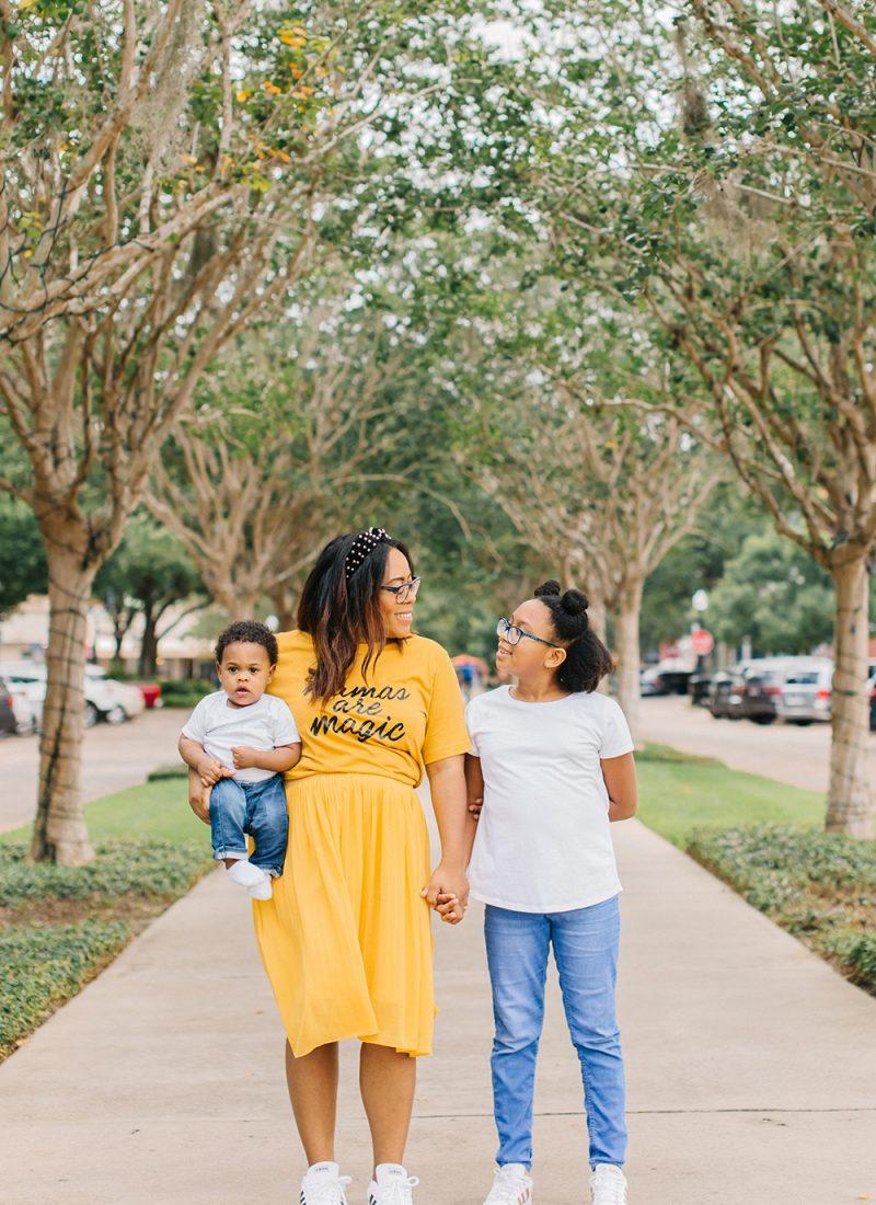 black mom influencer