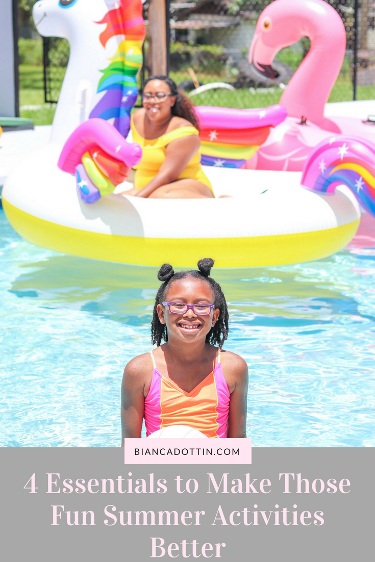 4 Essentials to Make Those Fun Summer Activities Better