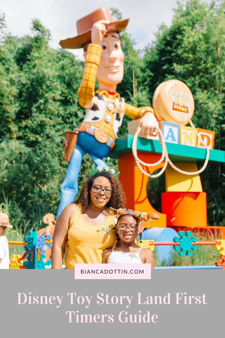 Disney Toy Story Land First Timers Guide - Bianca Dottin