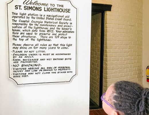 St Simons Lighthouse Adventures - Florida Blogger - Bianca Dottin