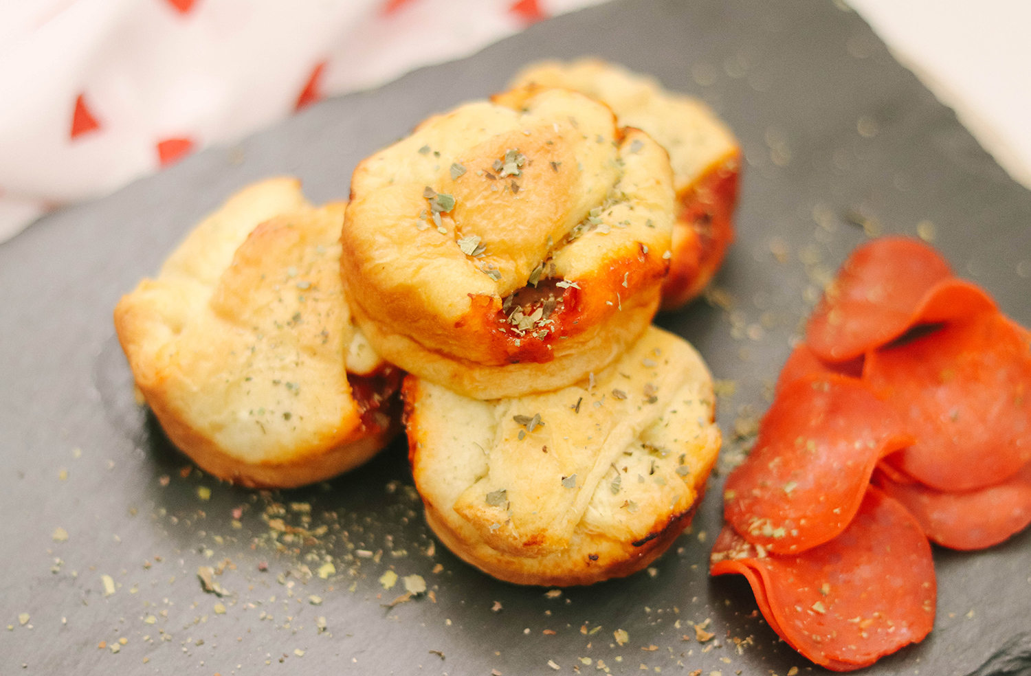 Pepperoni Pizza Bites - Kid Friendly Recipe