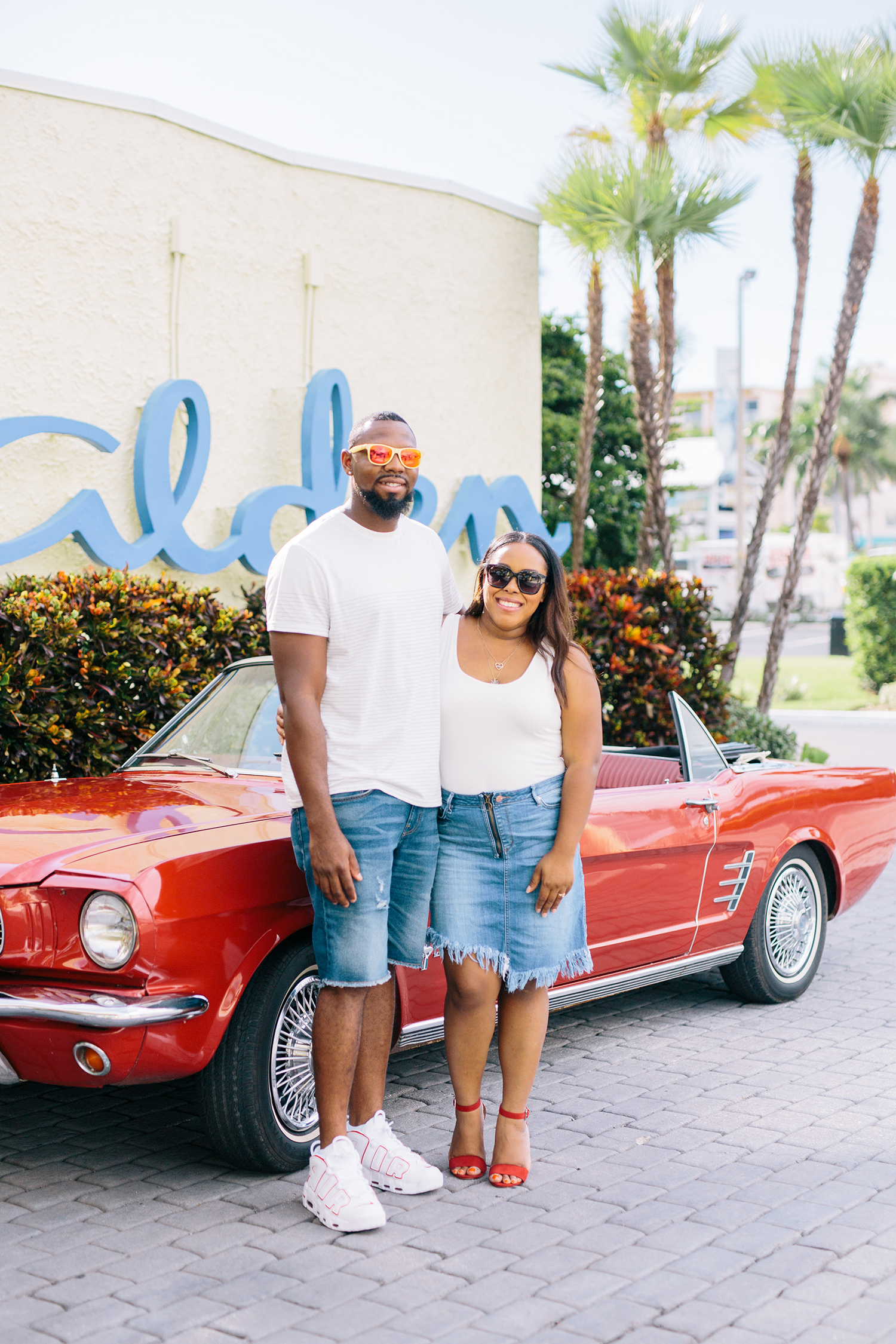 Florida Blogger Bianca Dottin takes a couples staycation