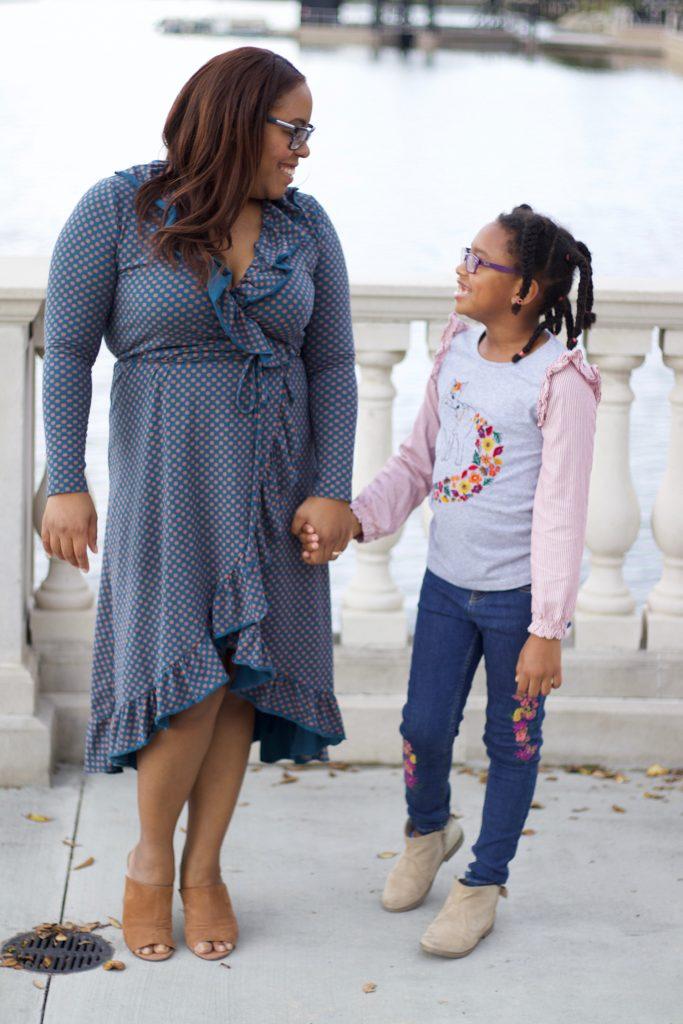 Orlando blogger Bianca Dottin wearing Matilda Jane