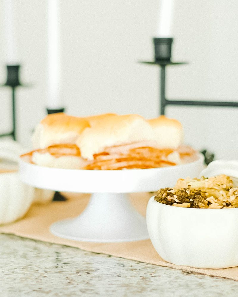HoneyBaked Ham Friendsgiving Food Ideas