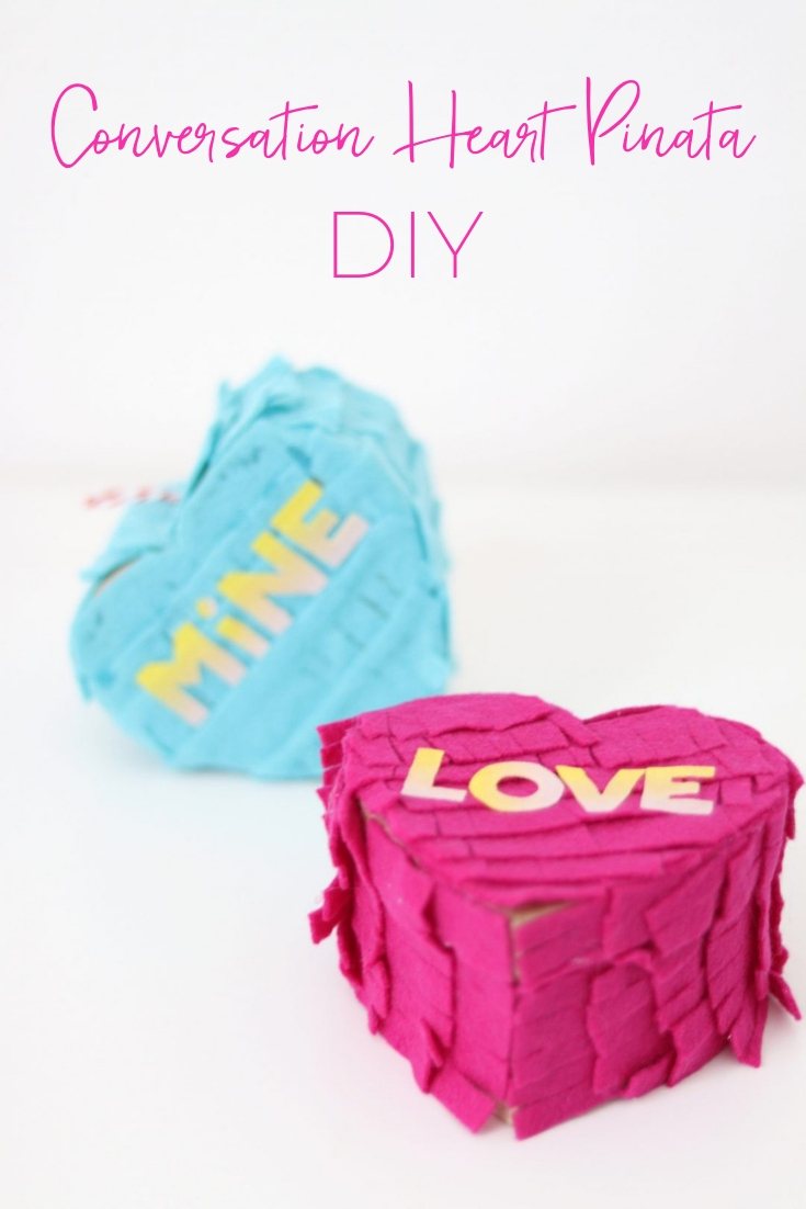 heart pinata diy