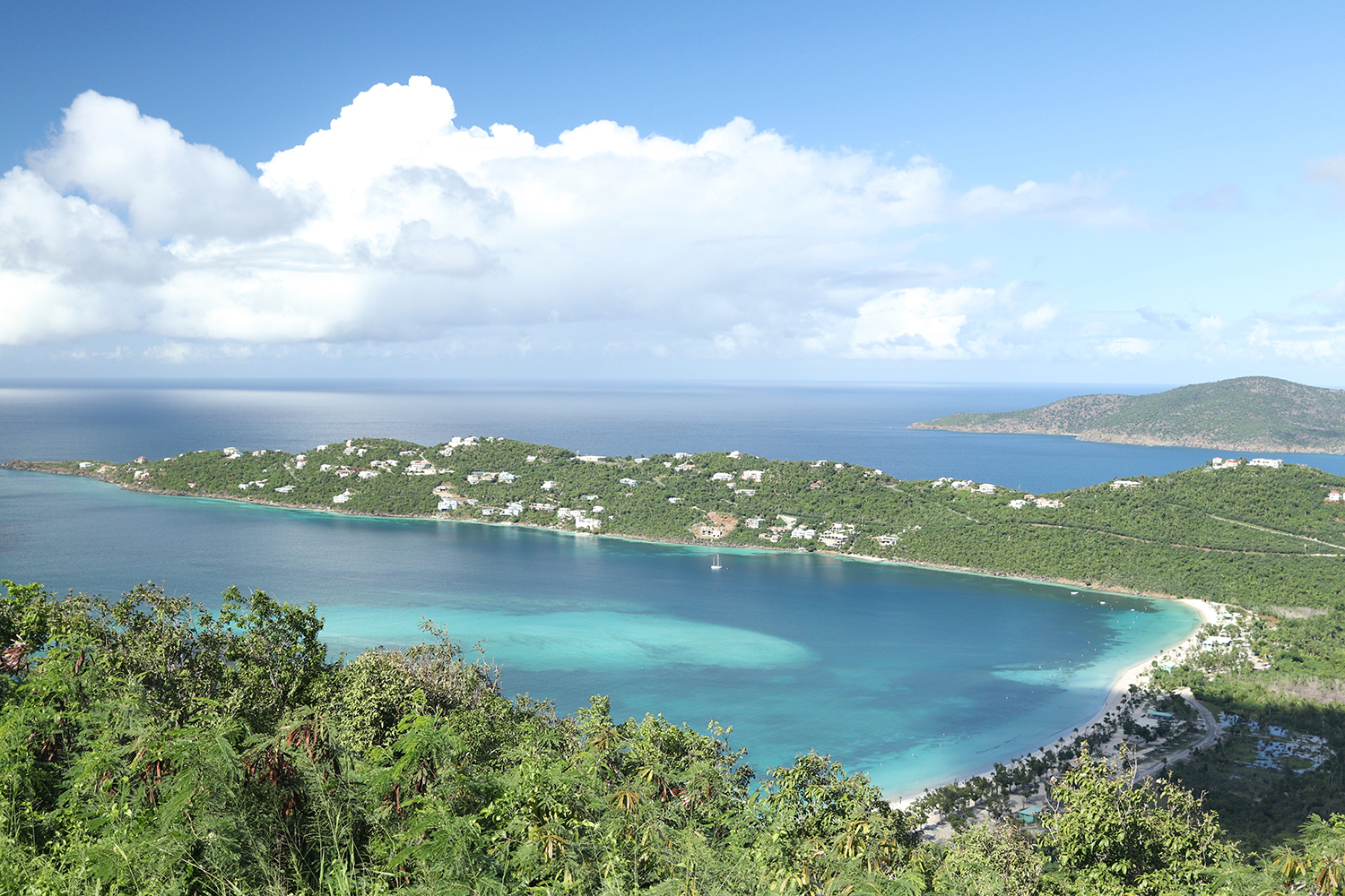 US Virgin Islands Magens Bay