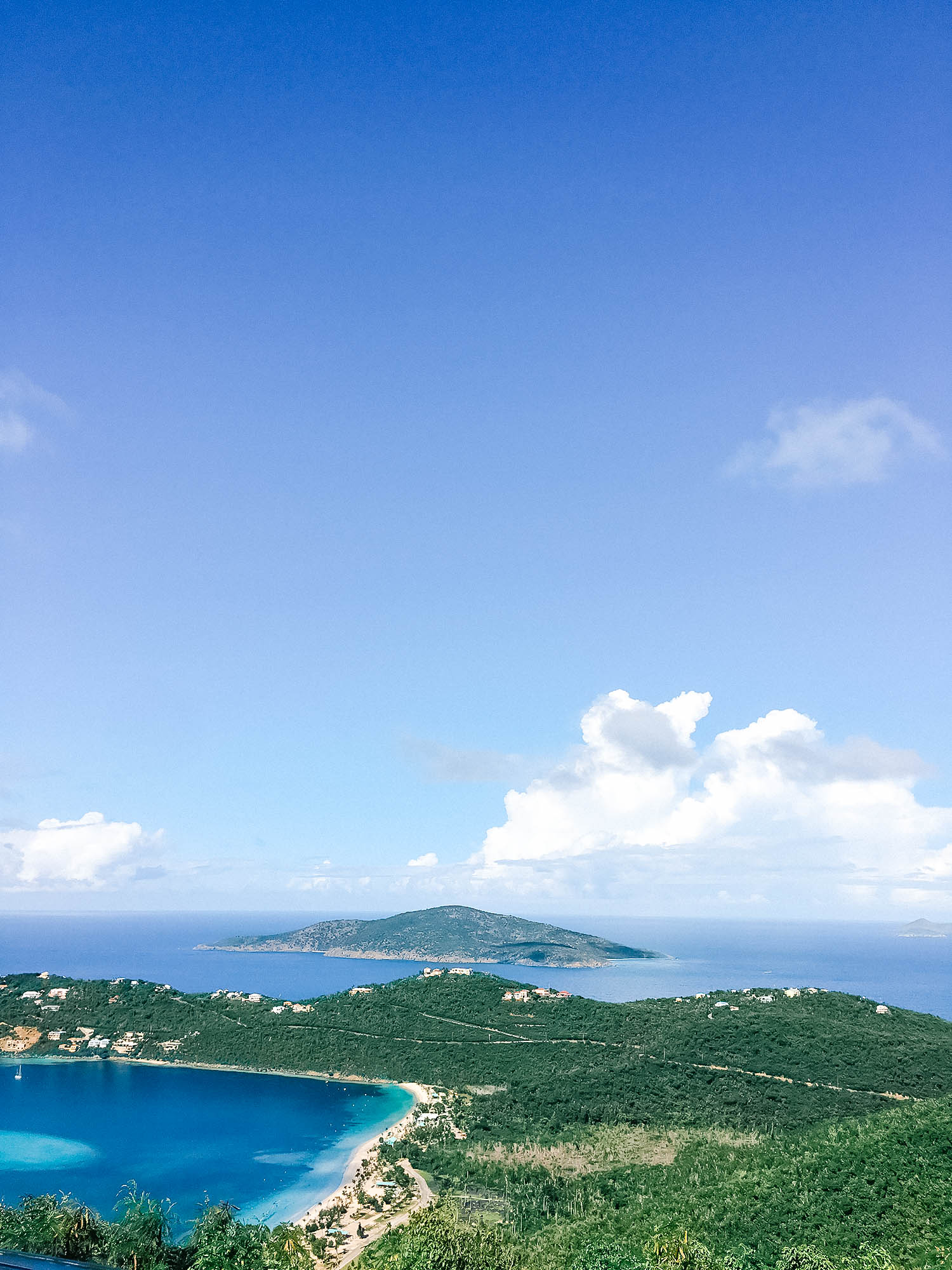 st thomas island view