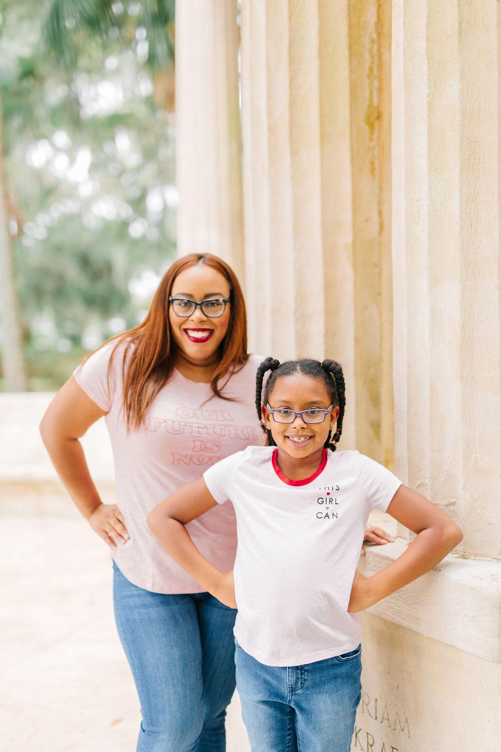 Orlando mom blogger Bianca Dottin