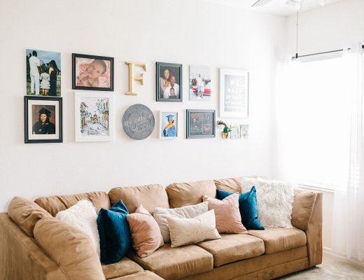 modern family living room decor
