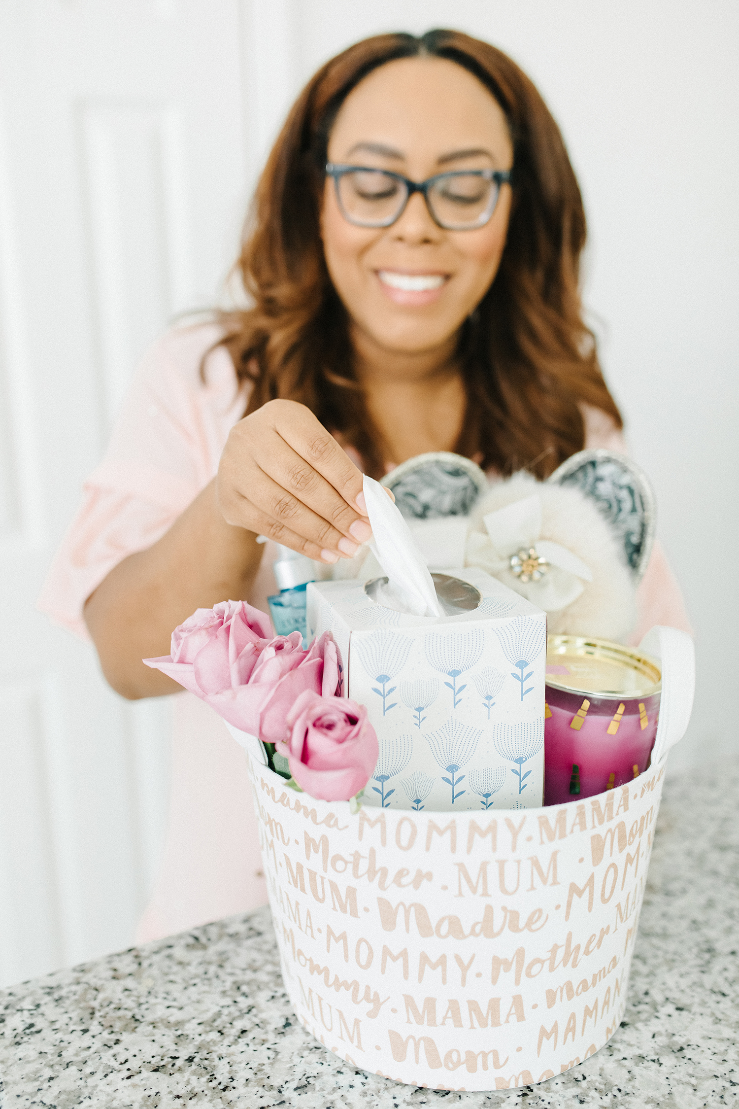 self care mother's day gift basket
