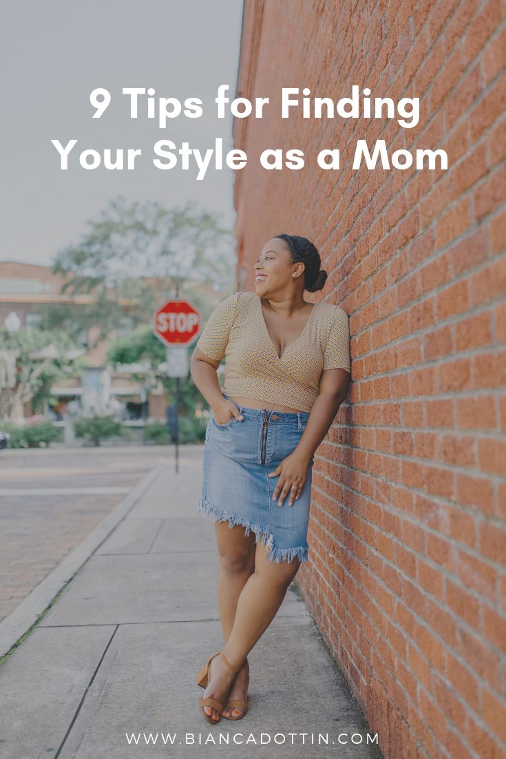 tips for finding your style as a mom