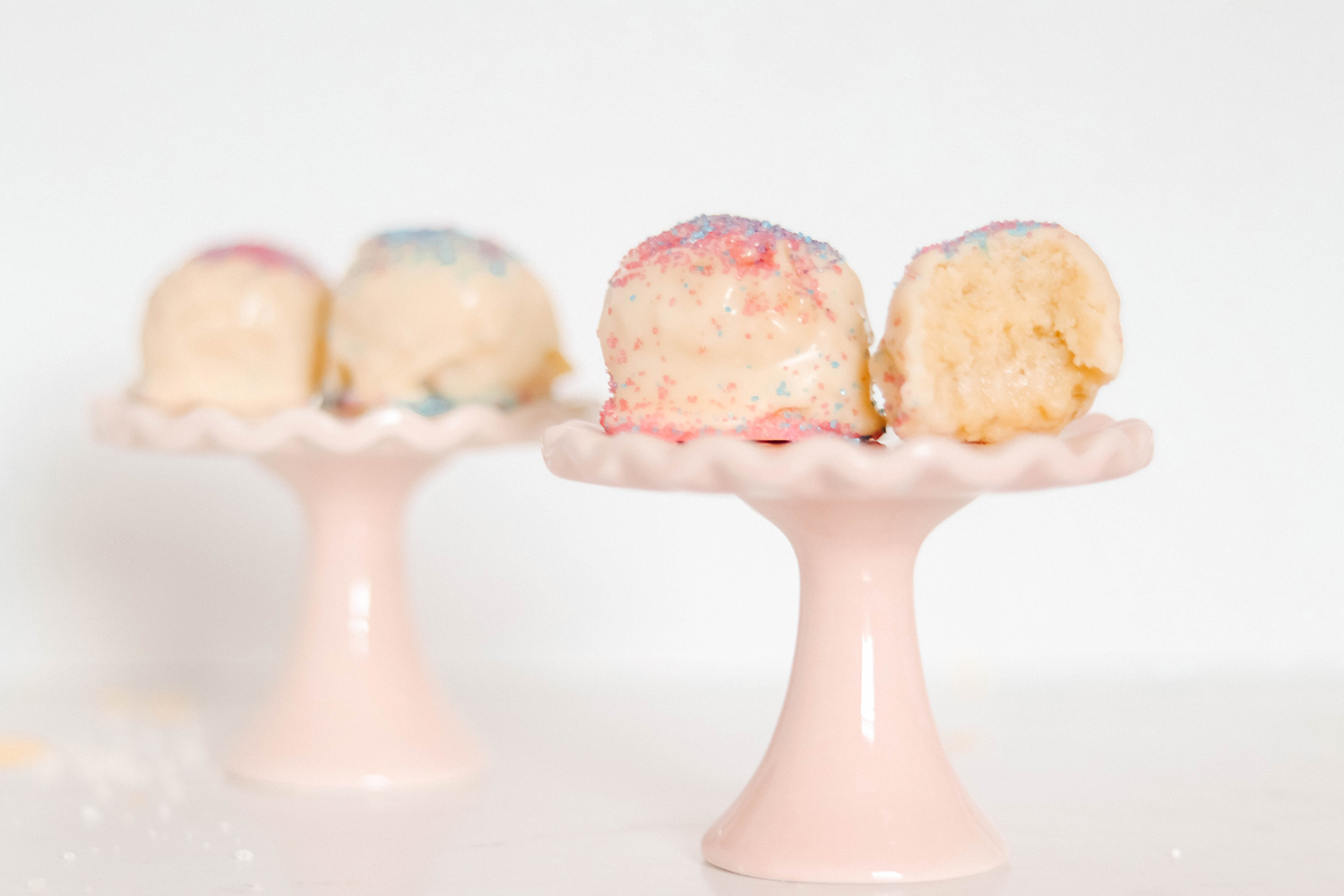 easy sugar cookie truffles