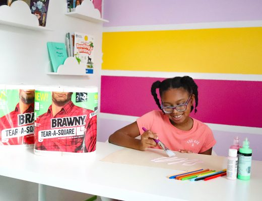 back to school hacks with brawny