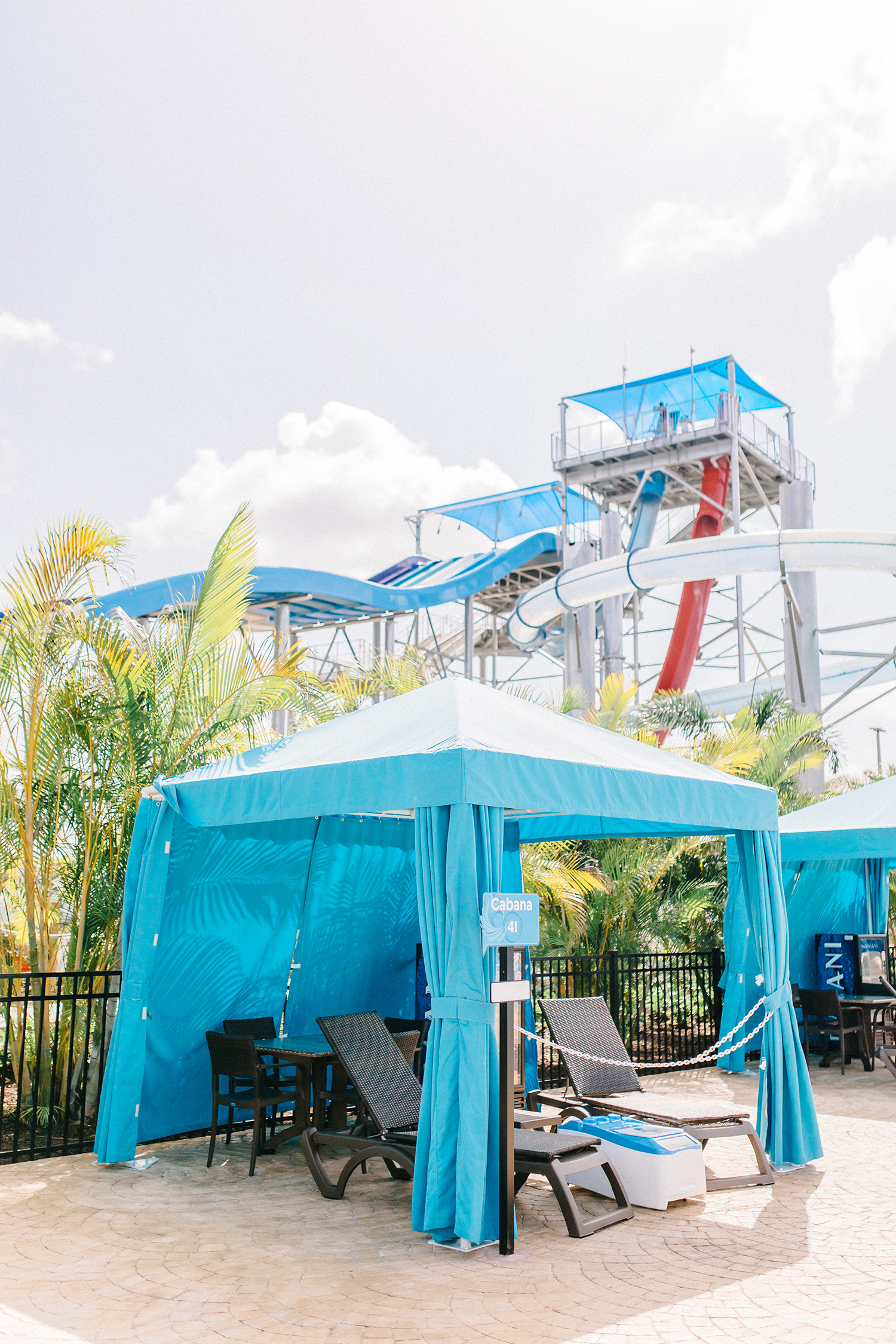 cabana rental orlando water park