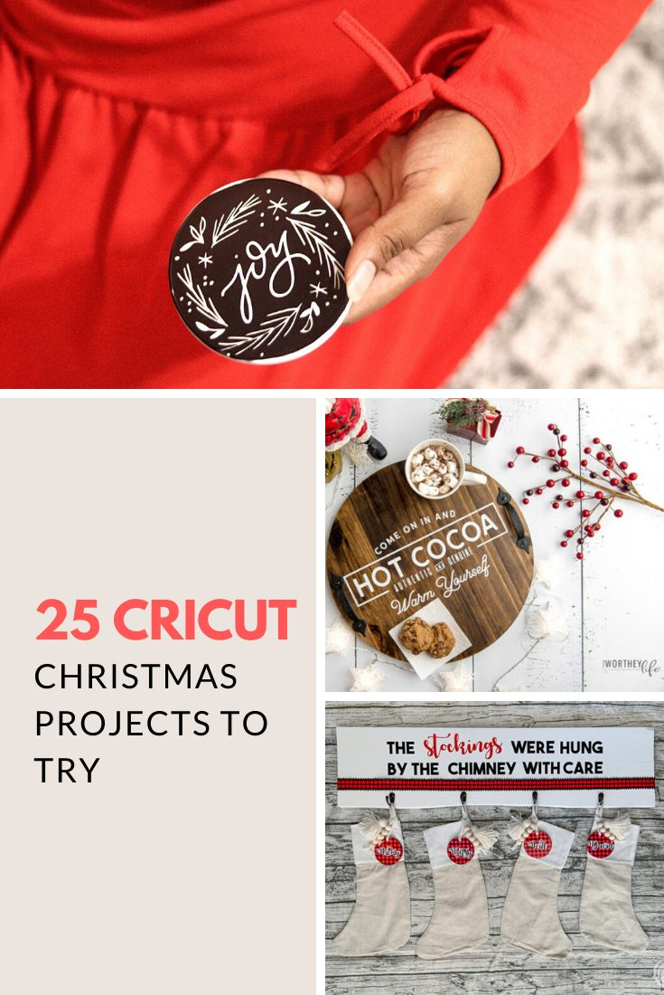 25 Cricut Christmas Projects You Should Try