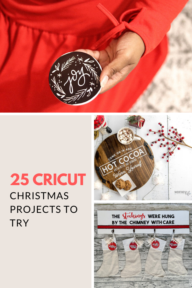 25 Cricut Christmas Projects