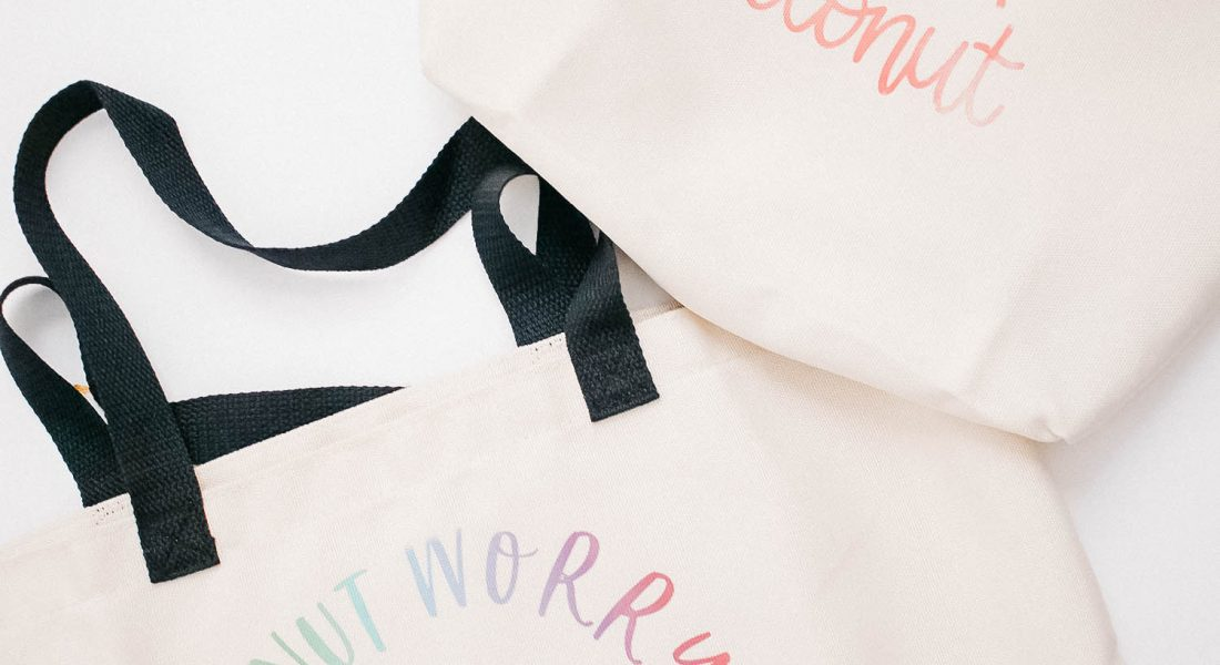 DIY Tote Bags in 3 Easy Steps with Cricut Infusible Ink