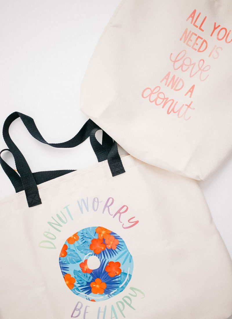 infusible ink tote bags