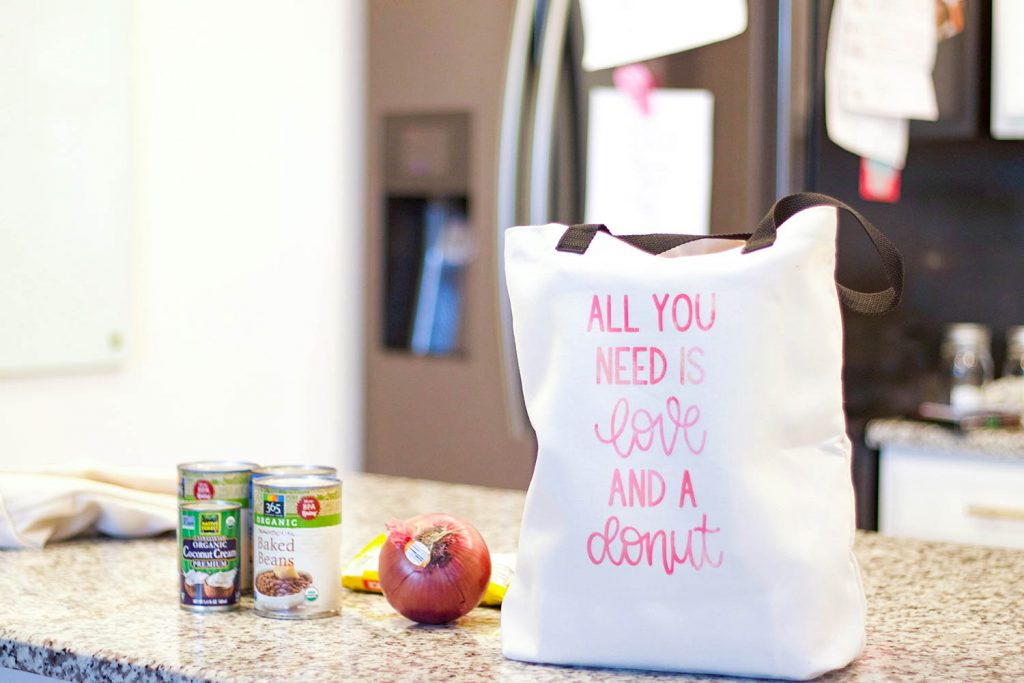 infusible ink diy tote bags
