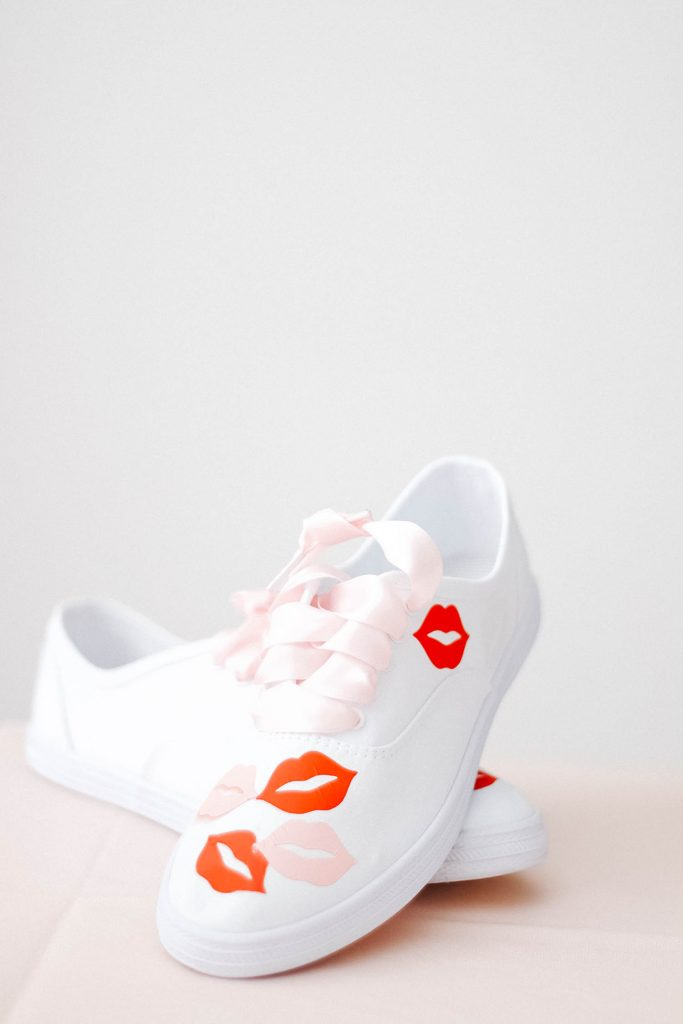 DIY Lip Print Shoes