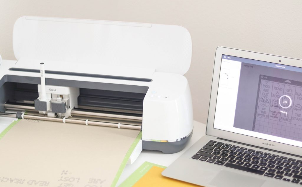 cricut maker project setup