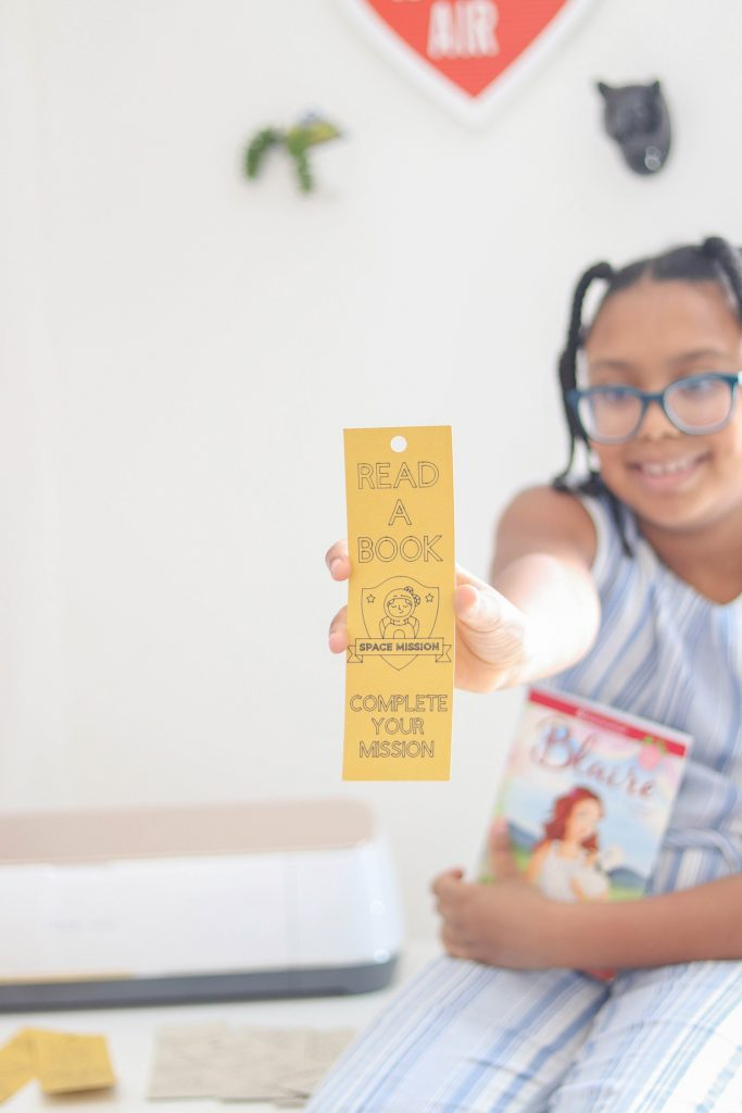 DIY Coloring Bookmarks for Kids